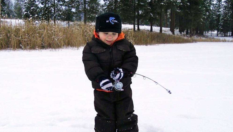 0f2e5842ae2fa When the snow and temperatures start to fall some angler s fishing season  comes to an end