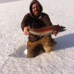 Ice Fishing Dragon Lake – Quesnel, BC