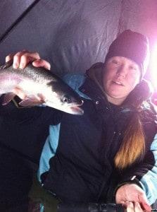 Chelsey baynes lake trout