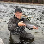 Swinging Streamers for Late Winter Rainbow Trout