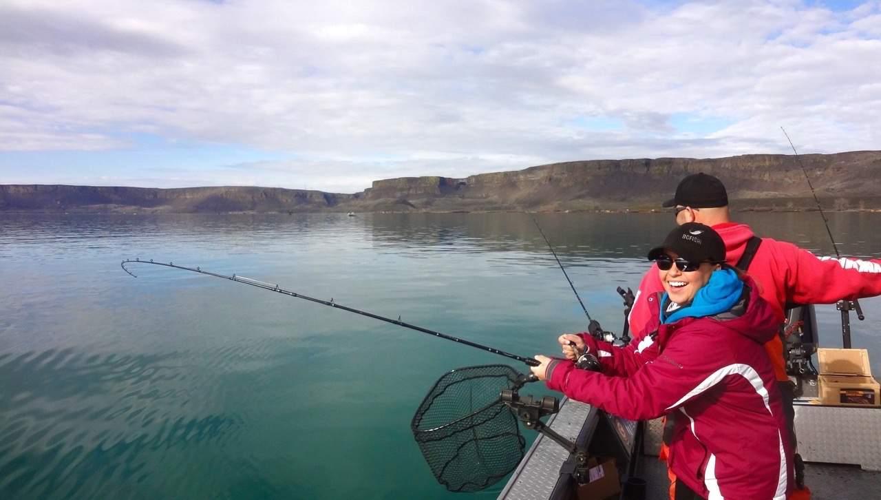 banks lake fishing